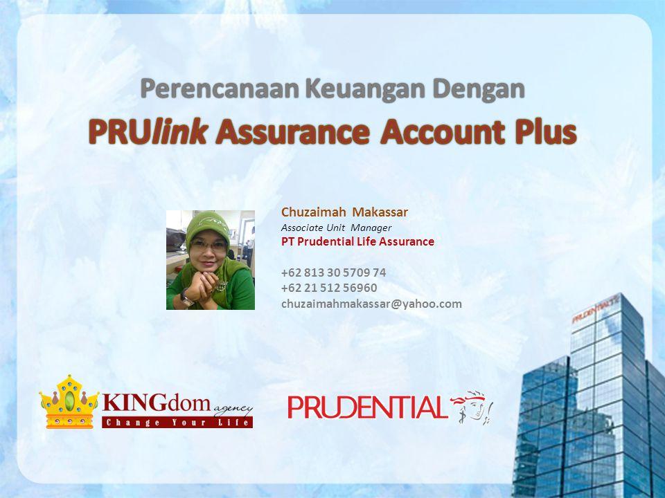 PRUlink Assurance Account Plus Perencanaan Keuangan Dengan
