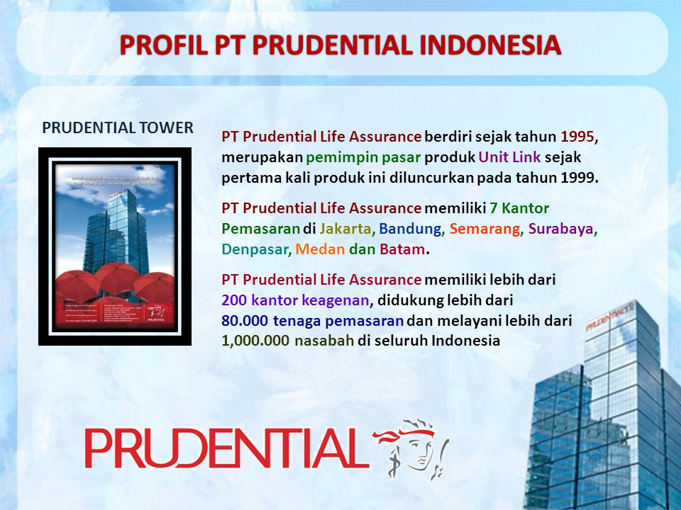 PROFIL PT PRUDENTIAL INDONESIA