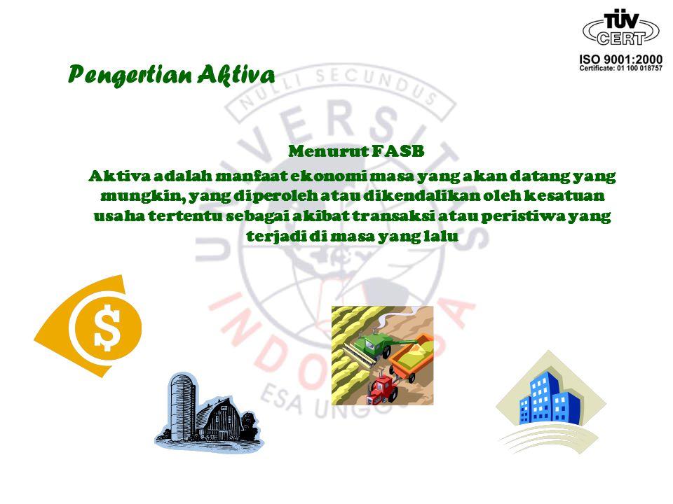 Pengertian Aktiva Menurut FASB