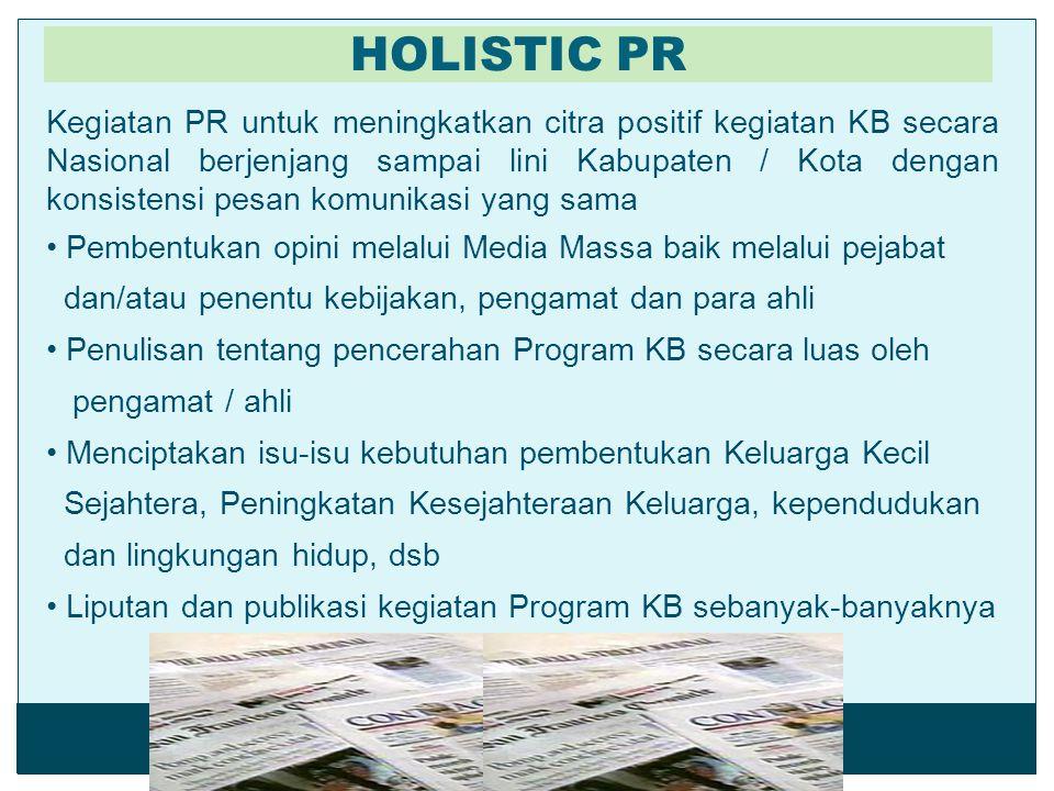 HOLISTIC PR