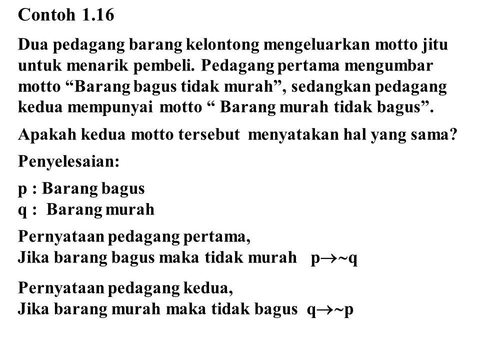 Contoh 1.16