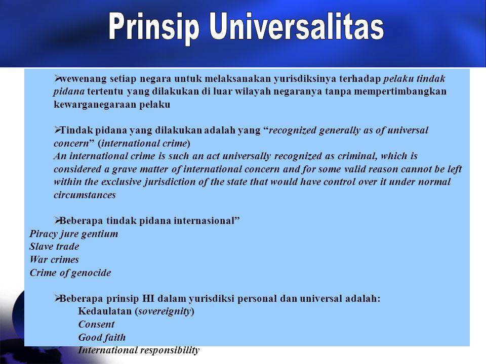 Prinsip Universalitas