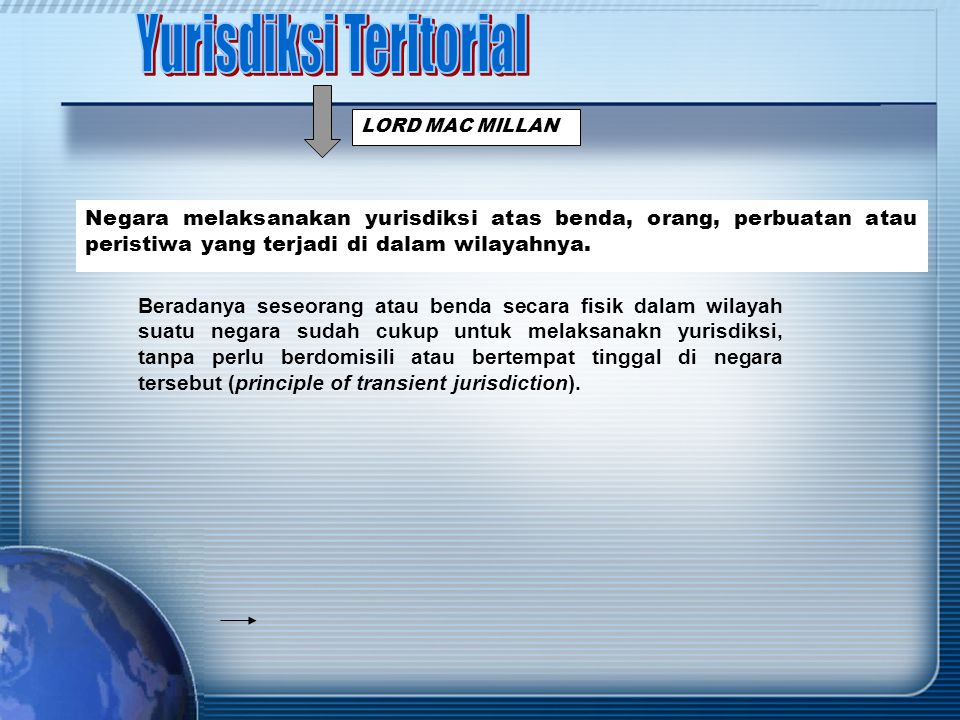 Yurisdiksi Teritorial