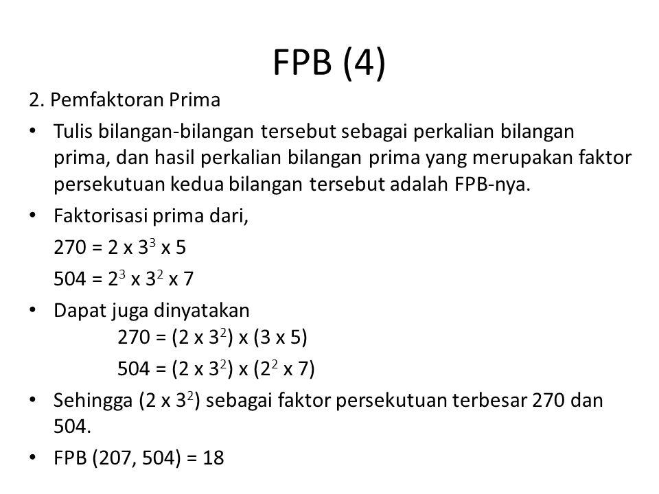 FPB (4) 2. Pemfaktoran Prima