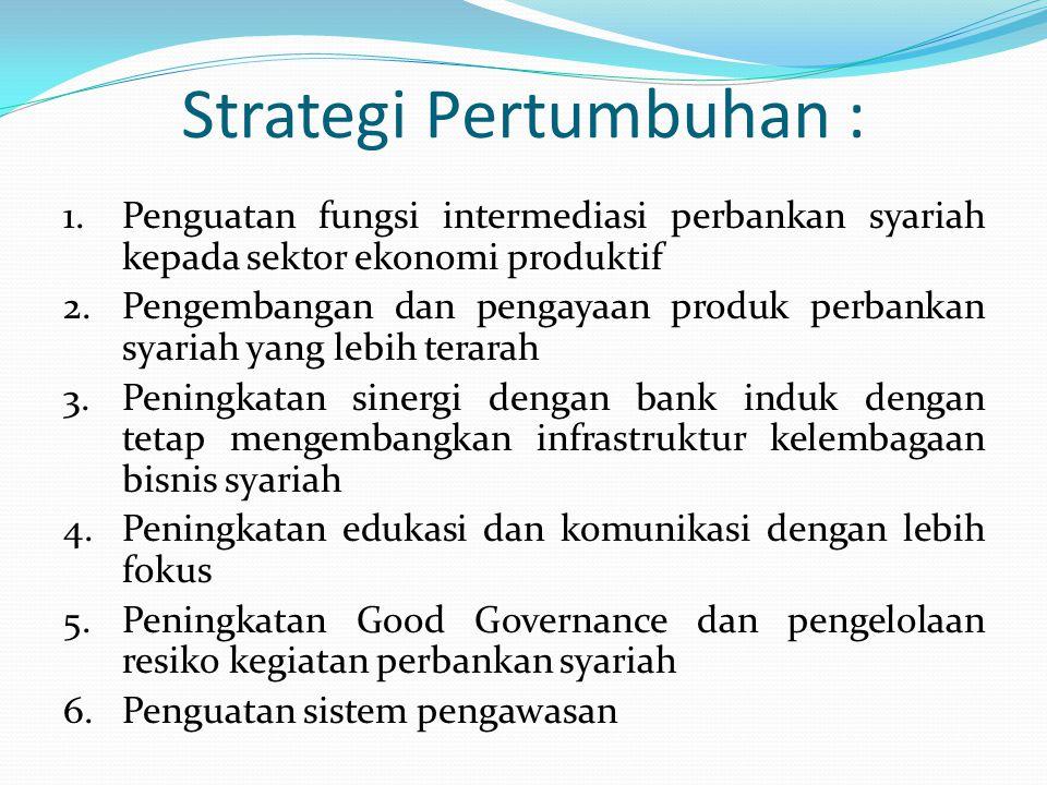 Strategi Pertumbuhan :
