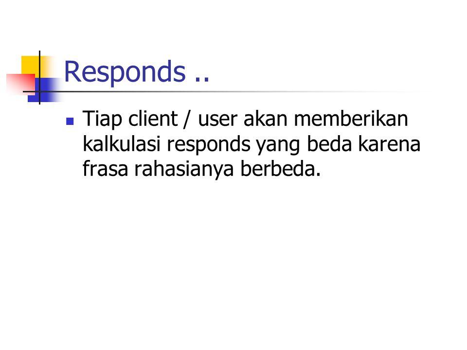 Responds ..