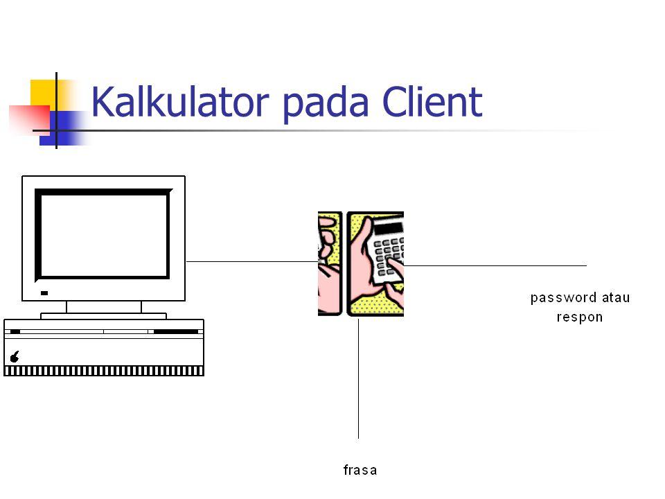 Kalkulator pada Client