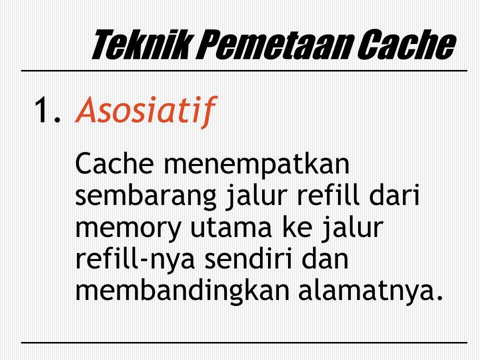 Teknik Pemetaan Cache Asosiatif