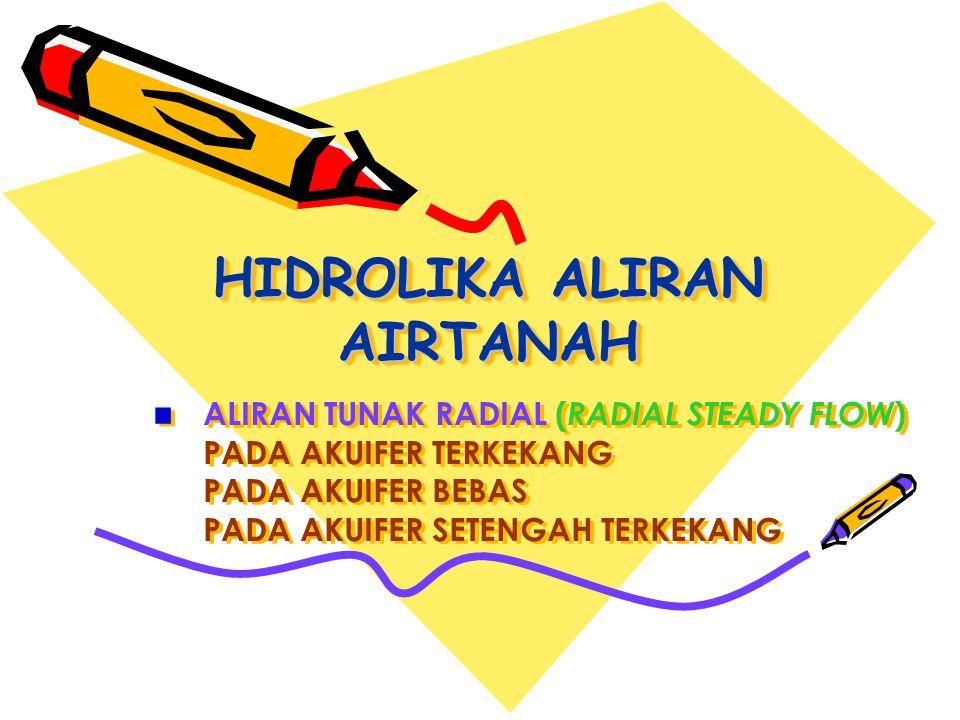 HIDROLIKA ALIRAN AIRTANAH