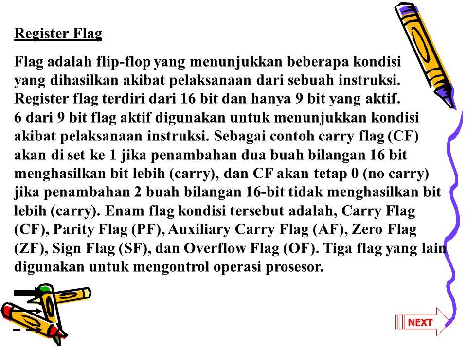 Register Flag