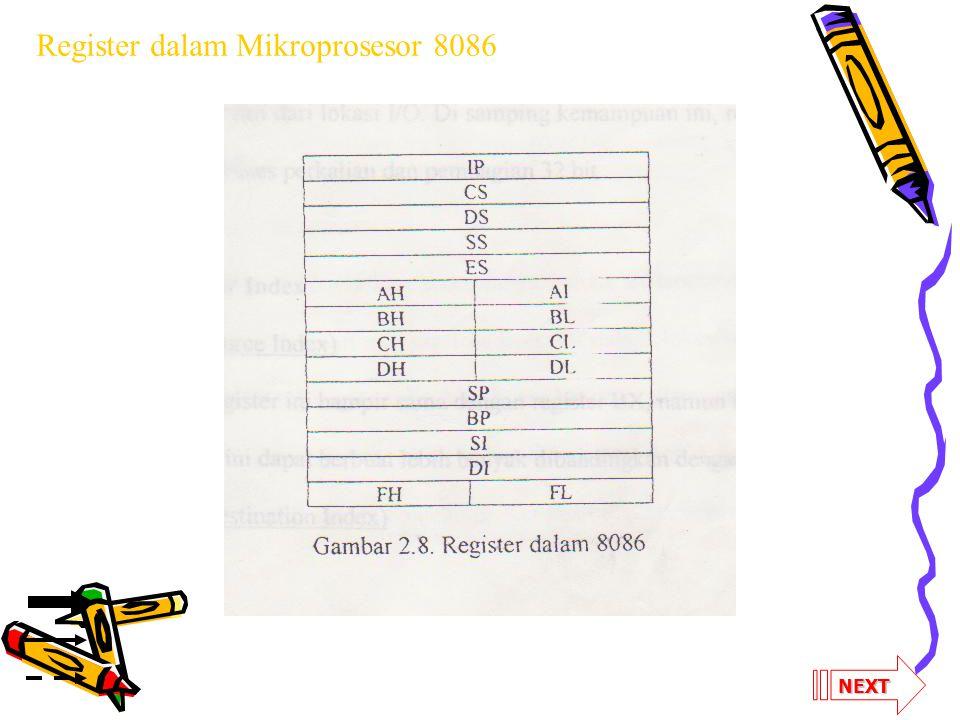 Register dalam Mikroprosesor 8086