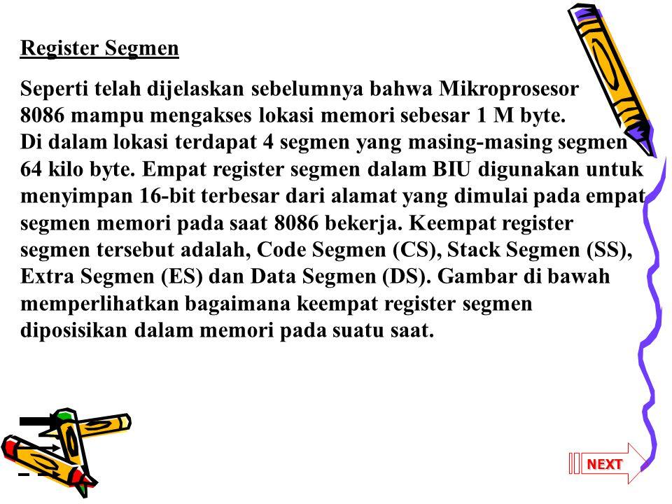 Register Segmen