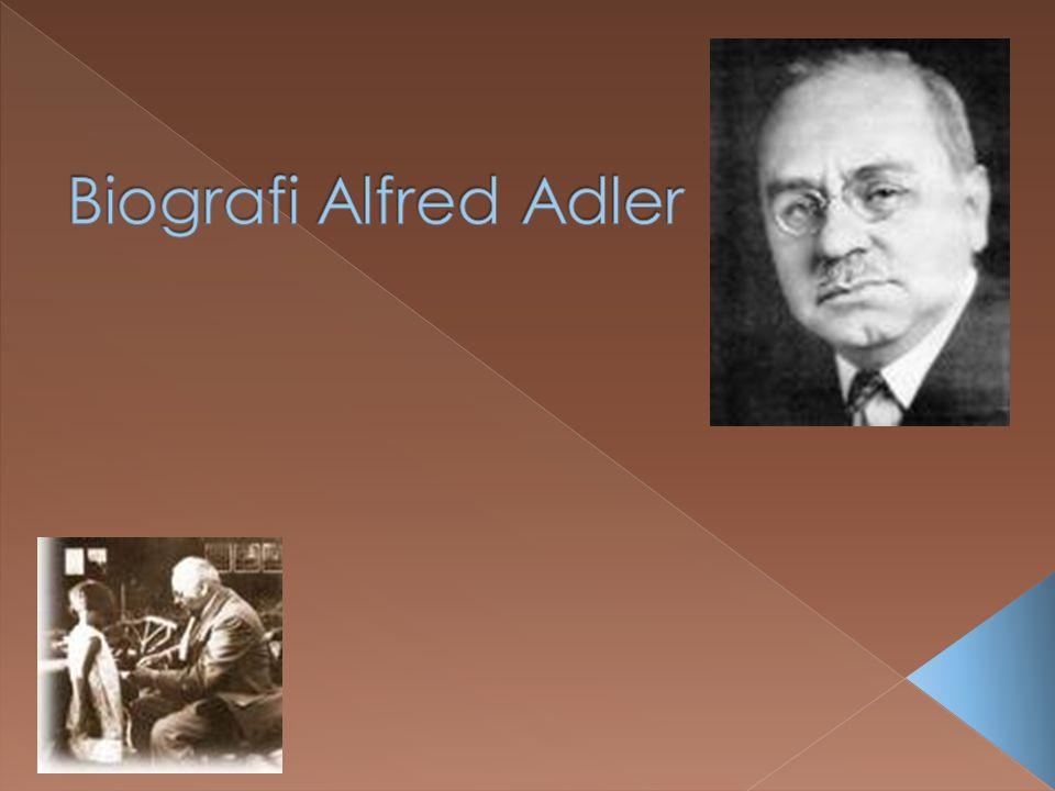Biografi Alfred Adler 1870-1937