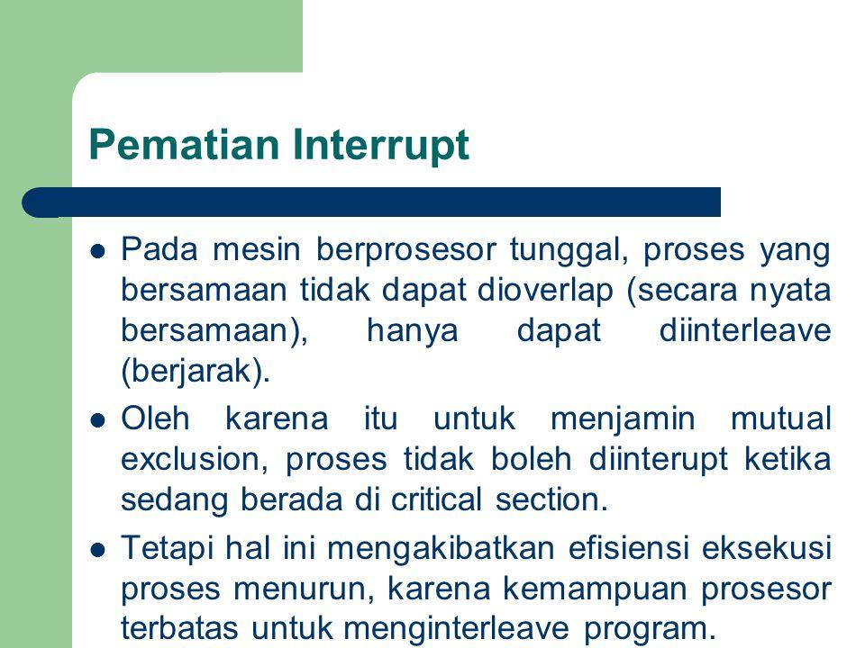 Pematian Interrupt