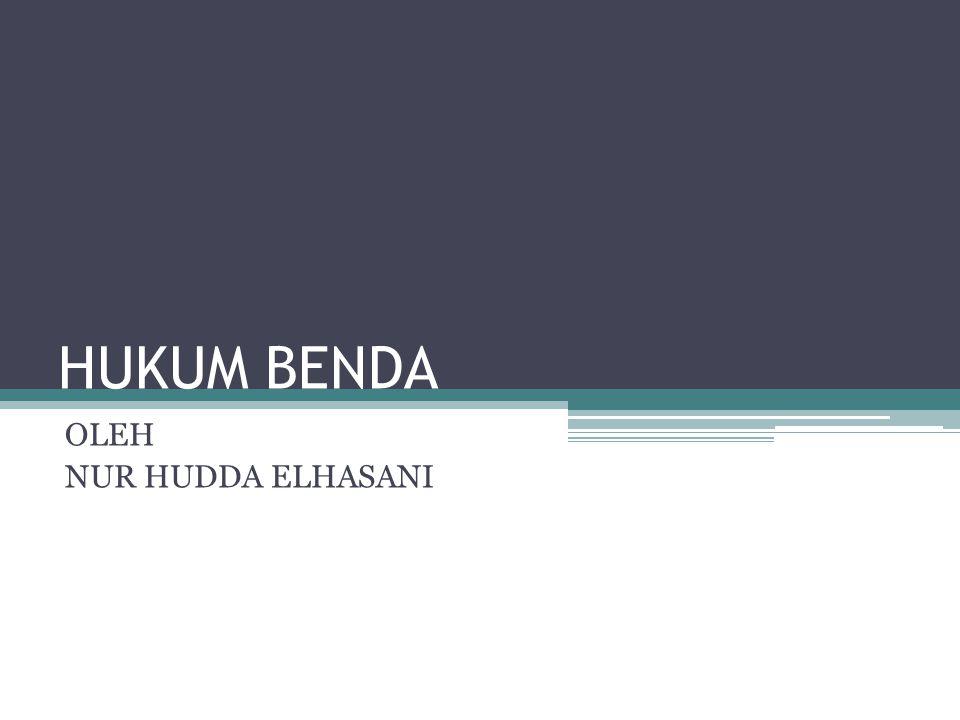 OLEH NUR HUDDA ELHASANI