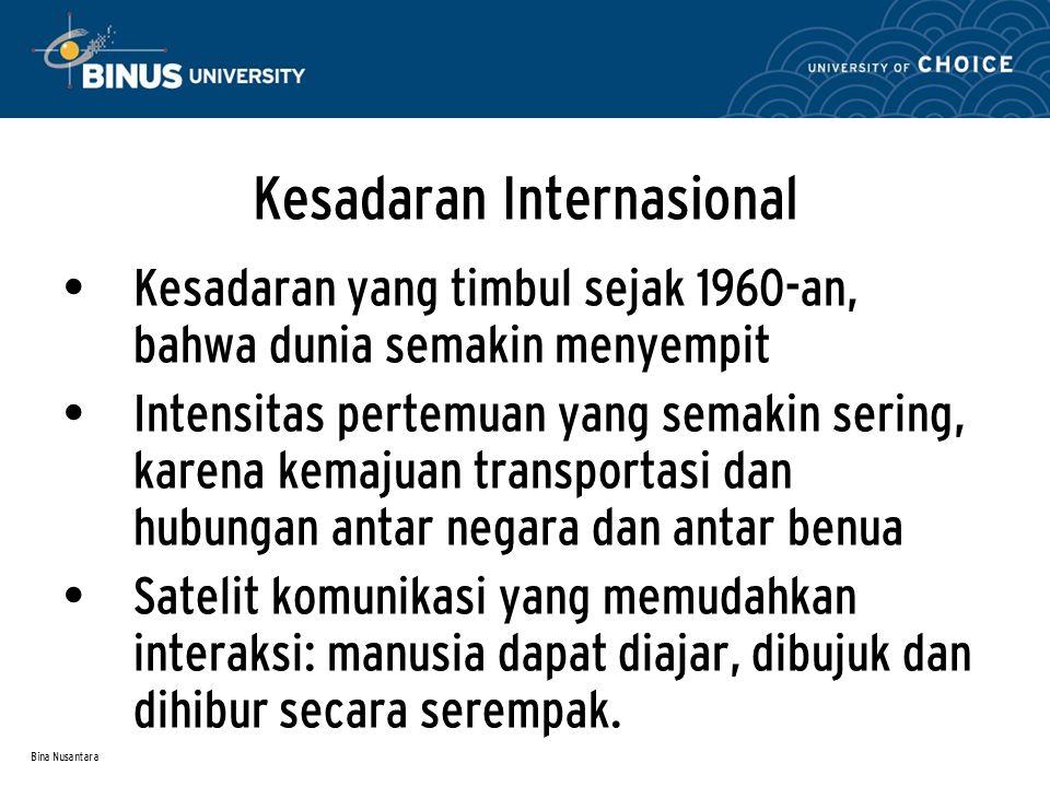 Kesadaran Internasional
