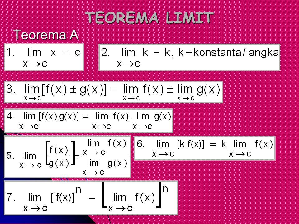 TEOREMA LIMIT Teorema A