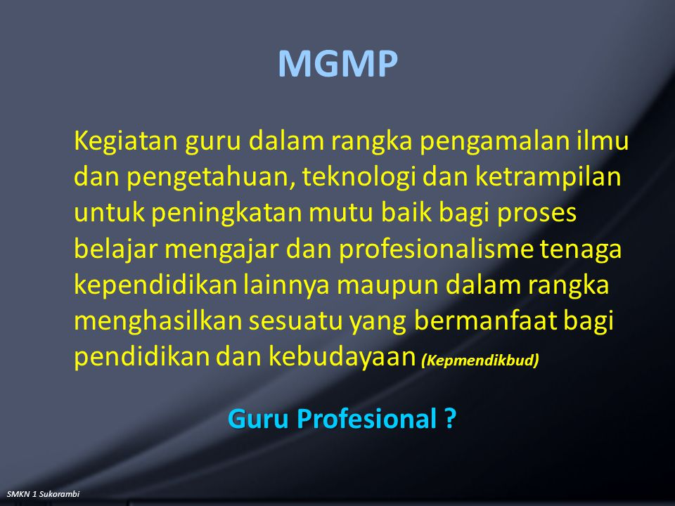 MGMP