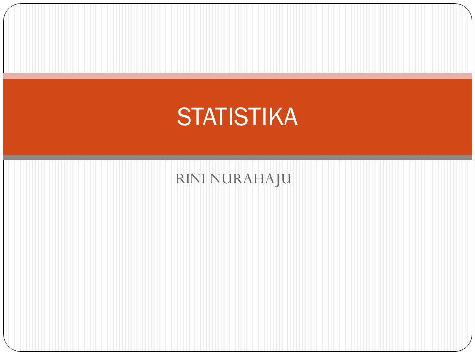 STATISTIKA RINI NURAHAJU