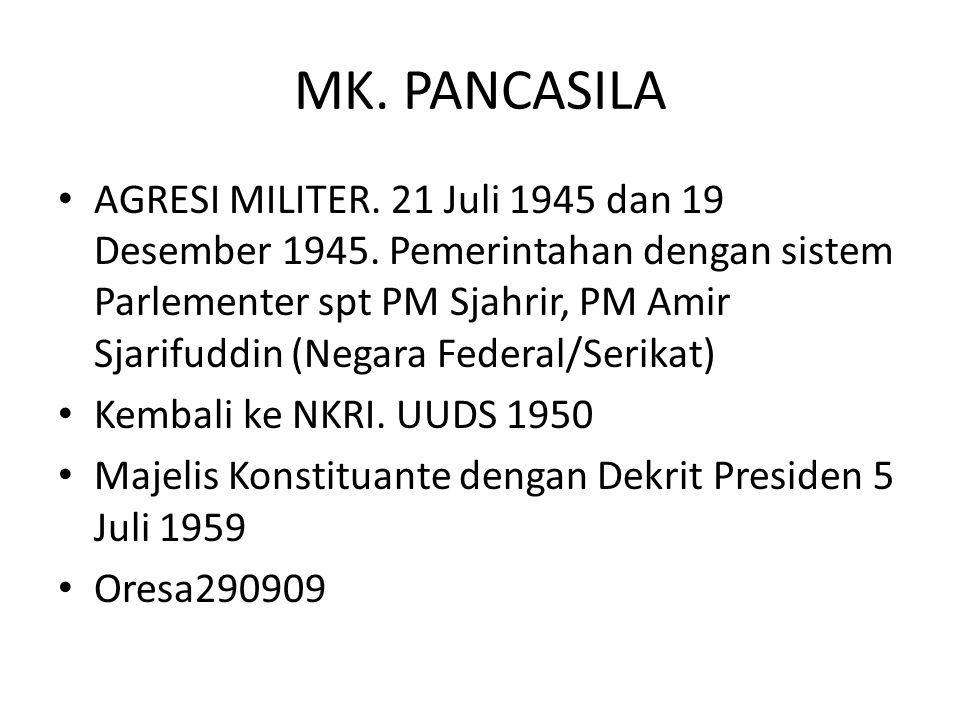 MK. PANCASILA