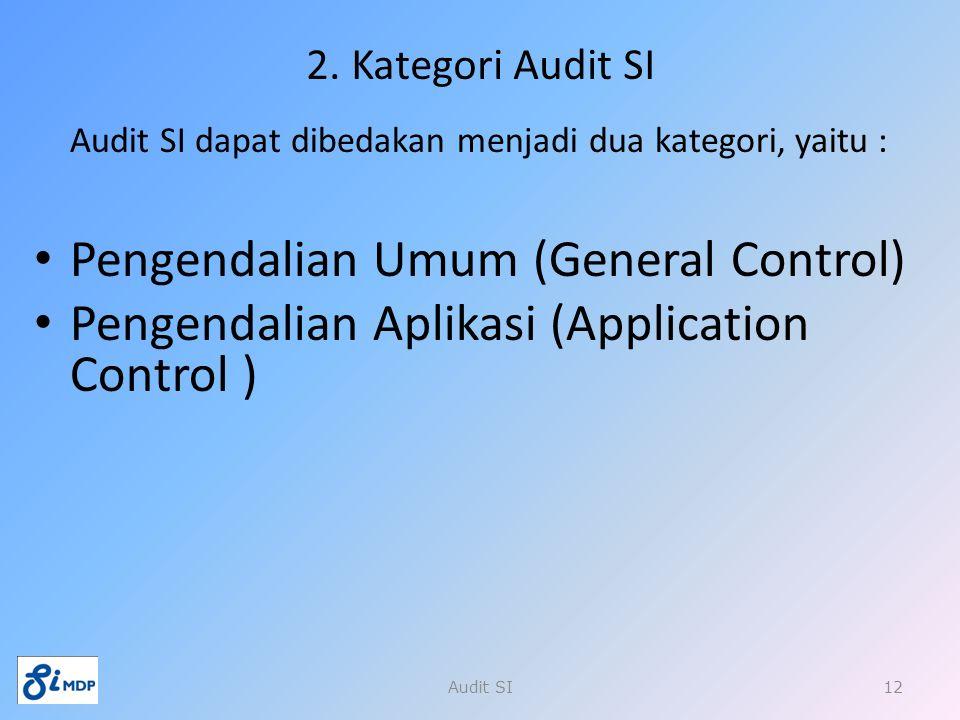 Pengendalian Umum (General Control)