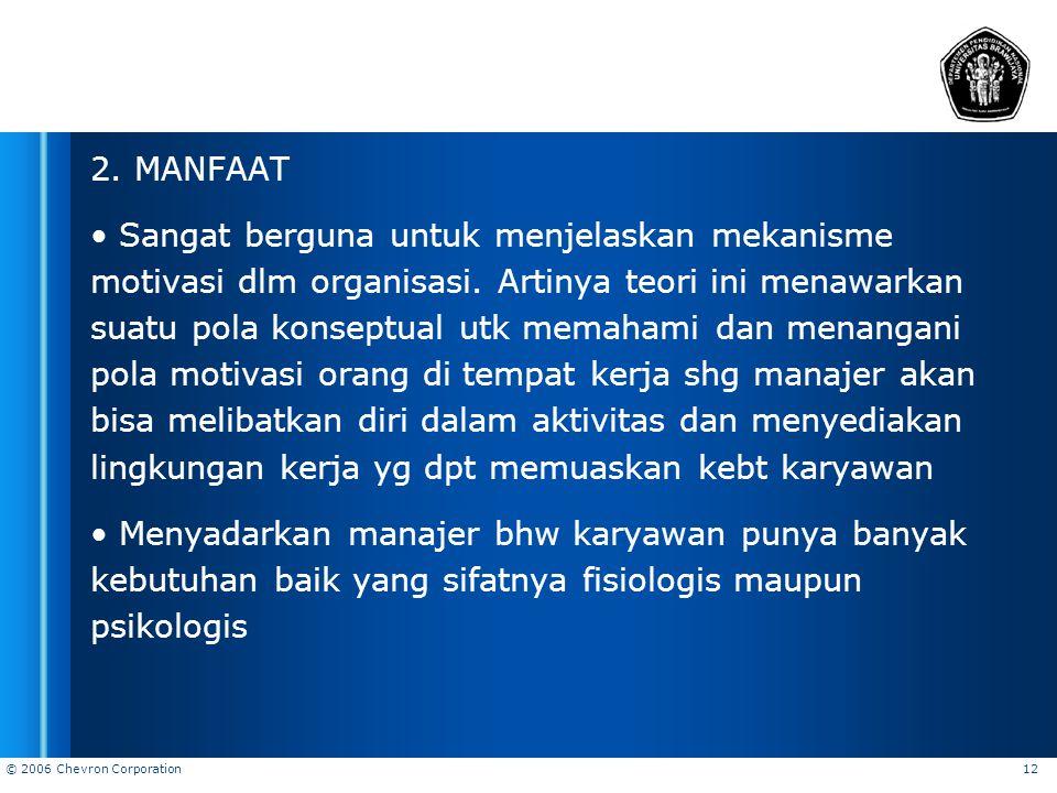 2. MANFAAT