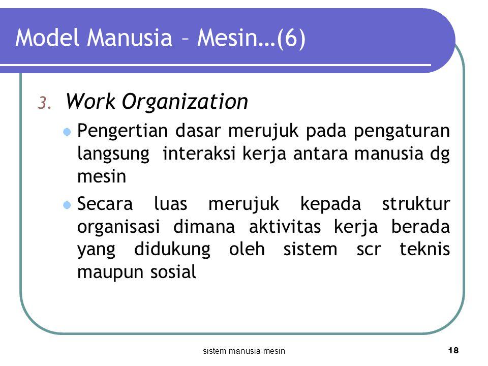 Model Manusia – Mesin…(6)