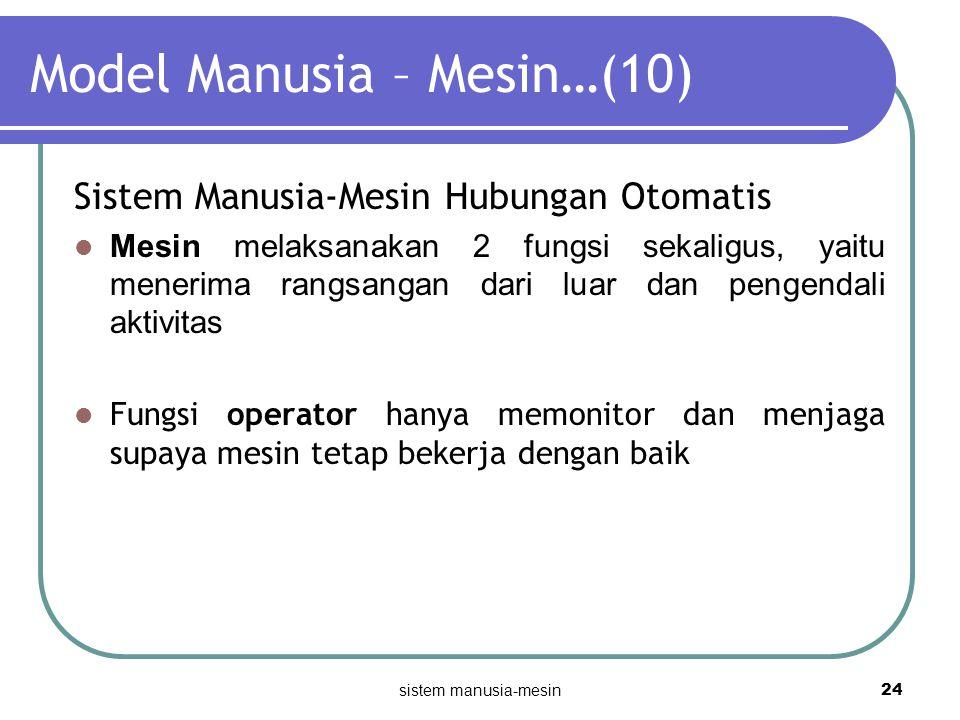 Model Manusia – Mesin…(10)