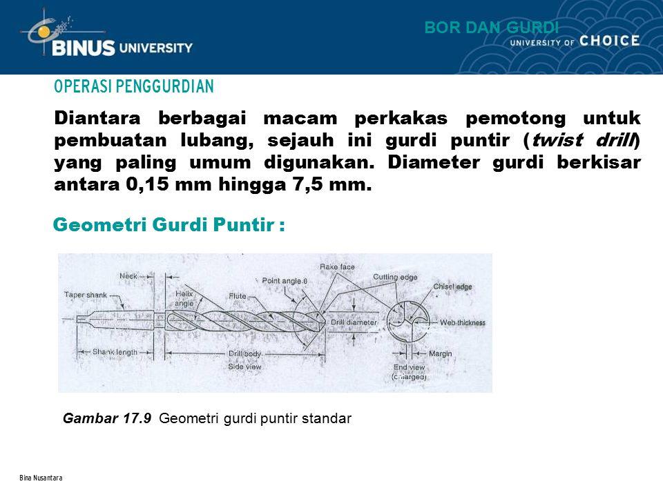 Geometri Gurdi Puntir :