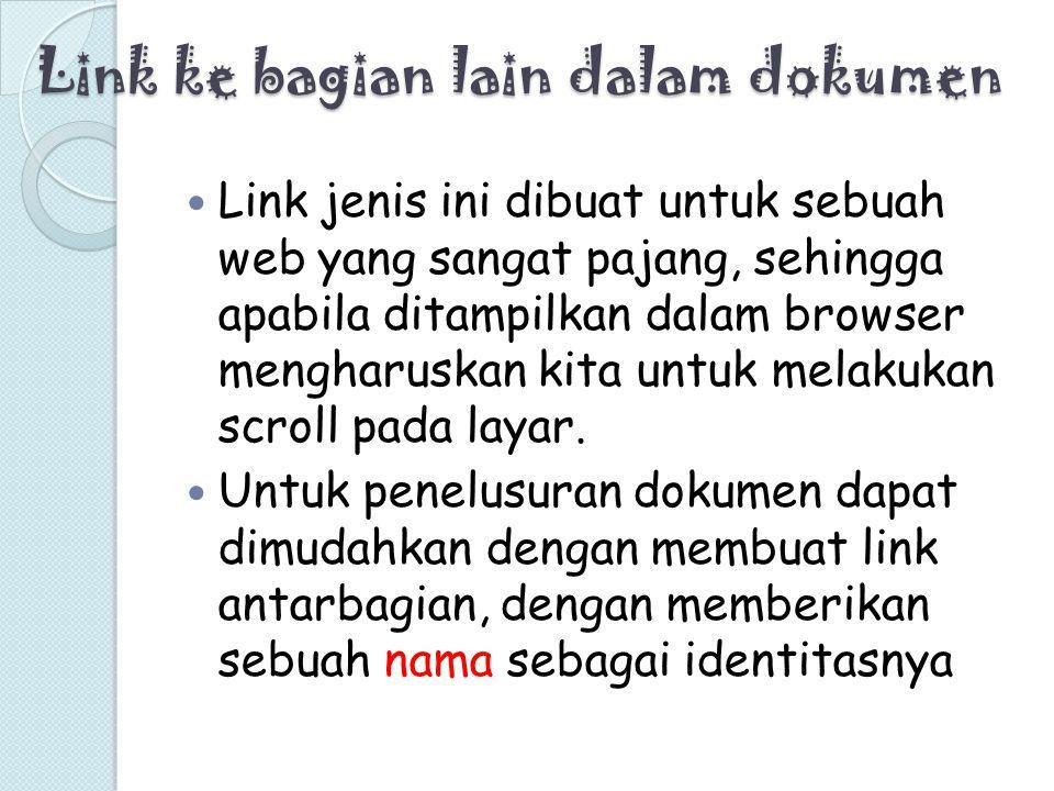 Link ke bagian lain dalam dokumen