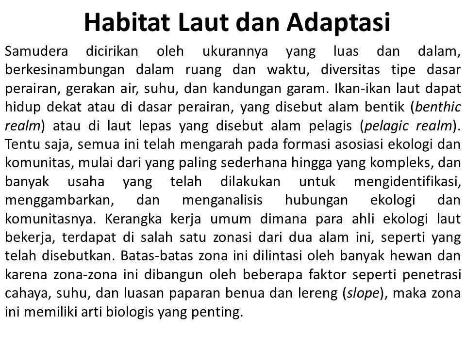Habitat Laut dan Adaptasi