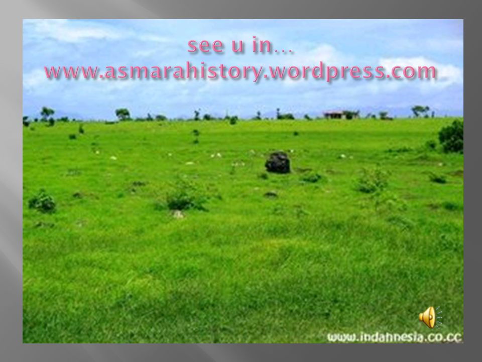see u in… www.asmarahistory.wordpress.com