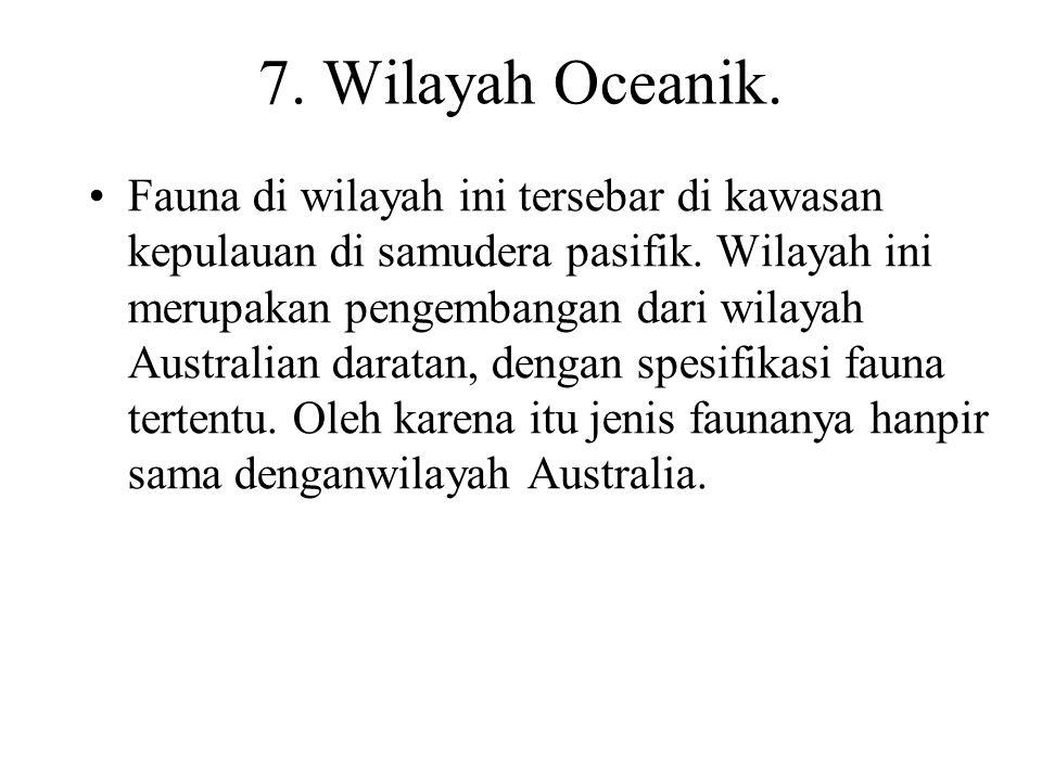 7. Wilayah Oceanik.