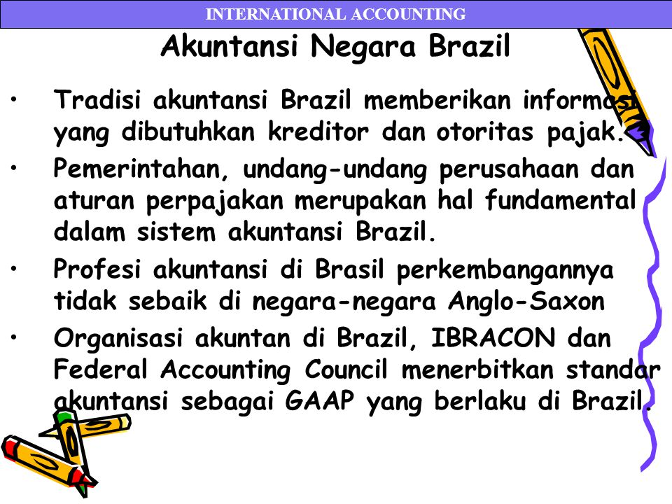 INTERNATIONAL ACCOUNTING Akuntansi Negara Brazil