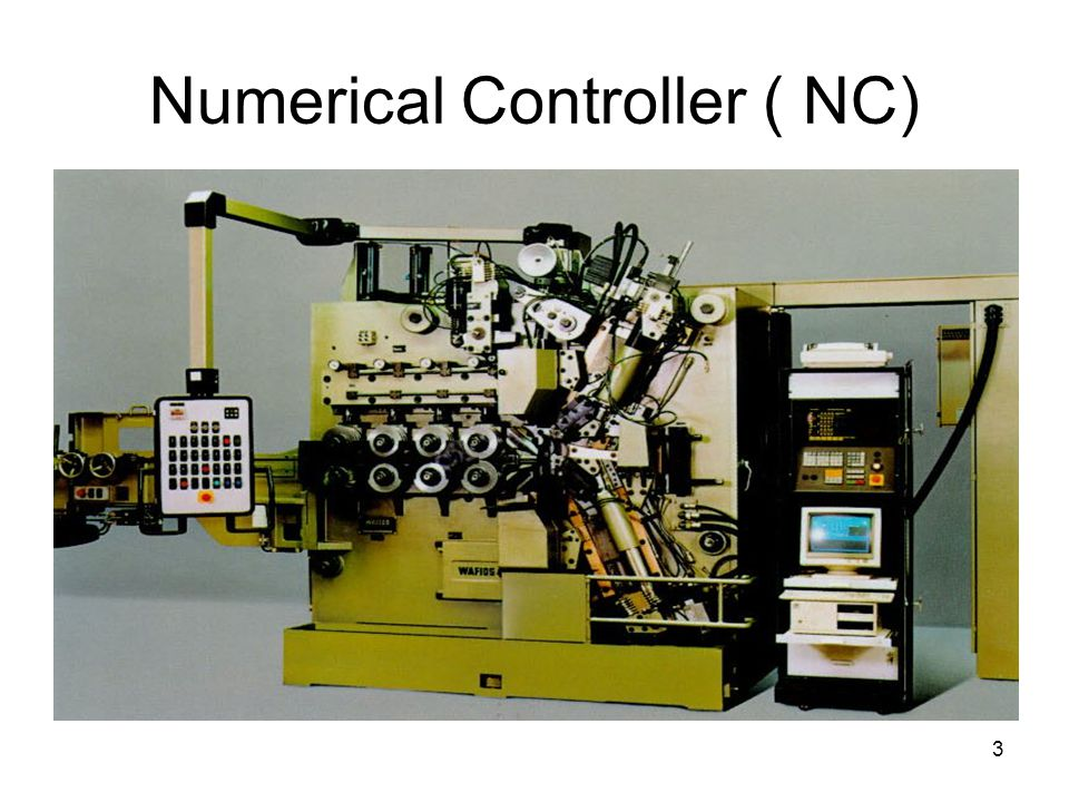 Numerical Controller ( NC)‏