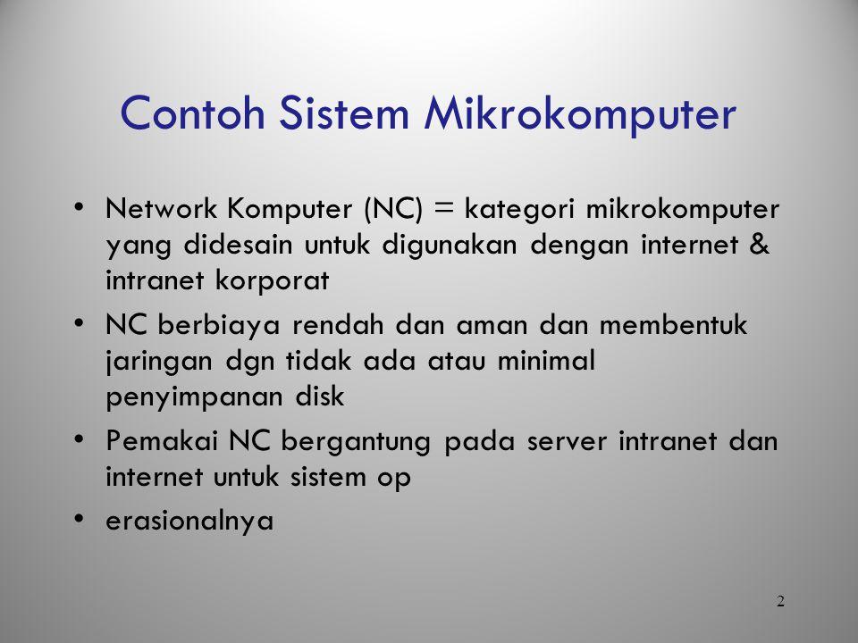 Contoh Sistem Mikrokomputer