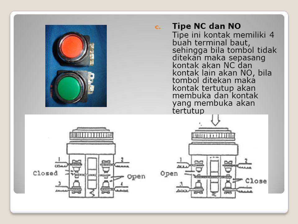 Tipe NC dan NO