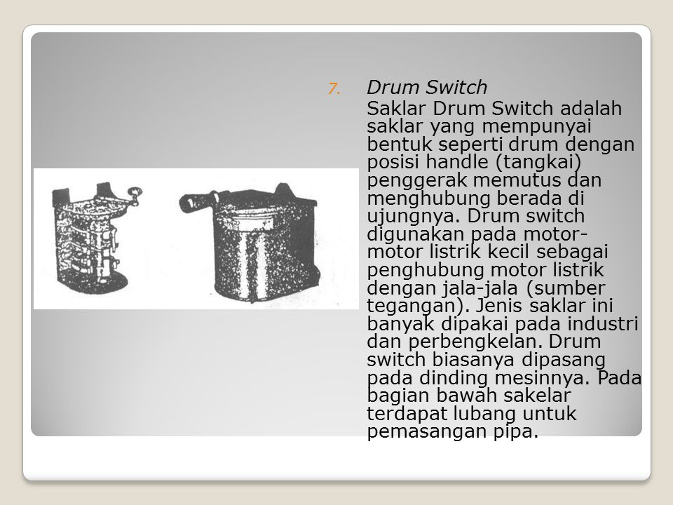 Drum Switch
