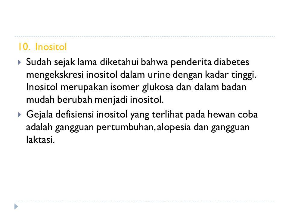10. Inositol