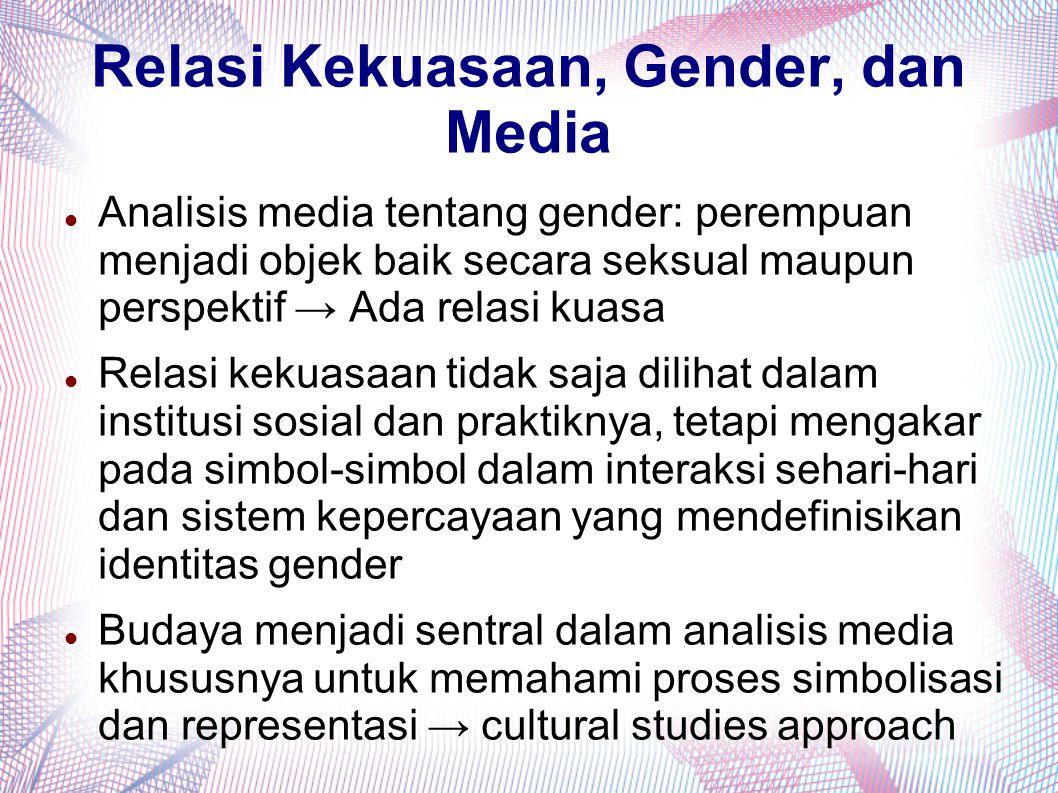 Relasi Kekuasaan, Gender, dan Media