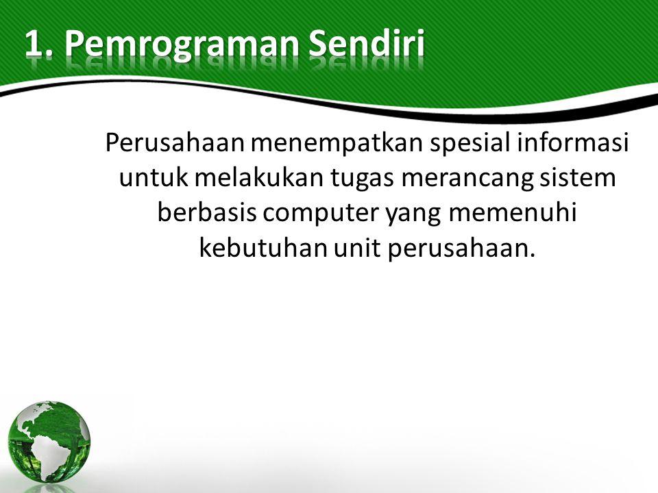 1. Pemrograman Sendiri