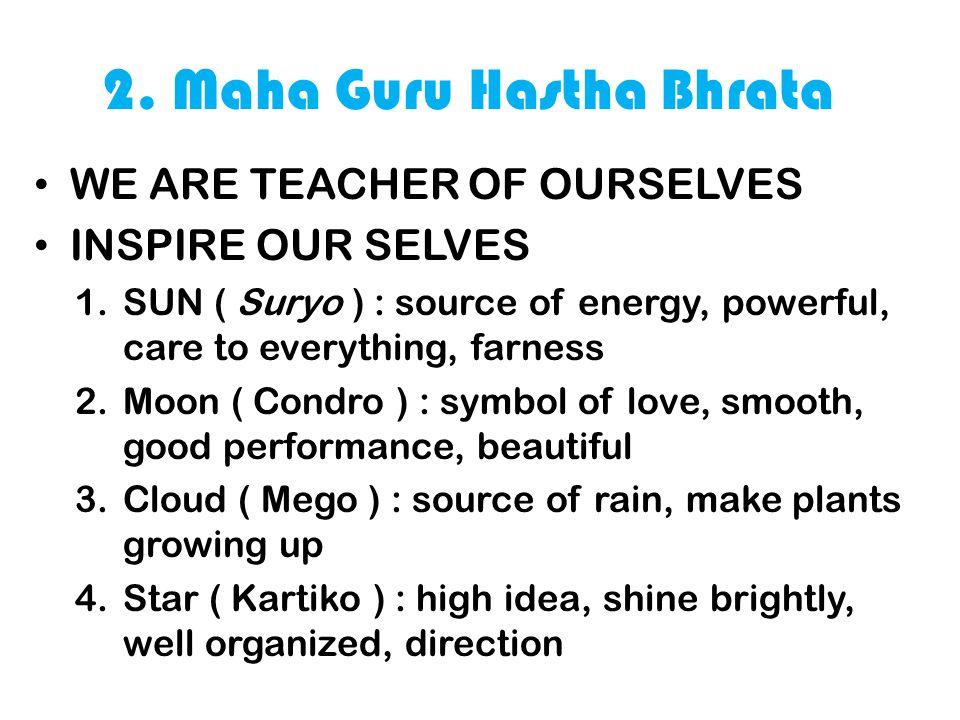 2. Maha Guru Hastha Bhrata