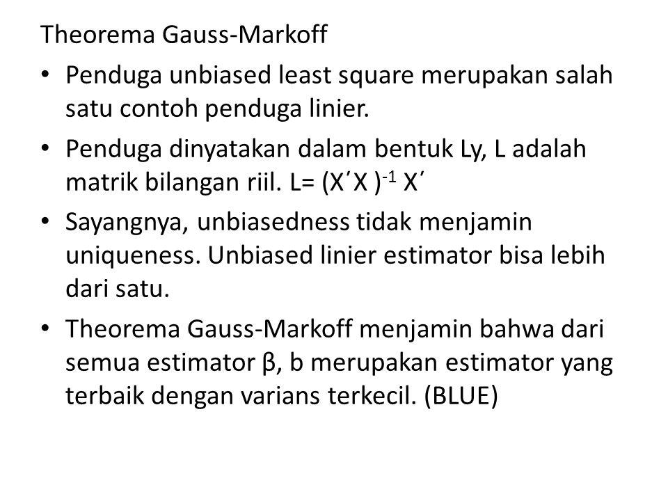 Theorema Gauss-Markoff