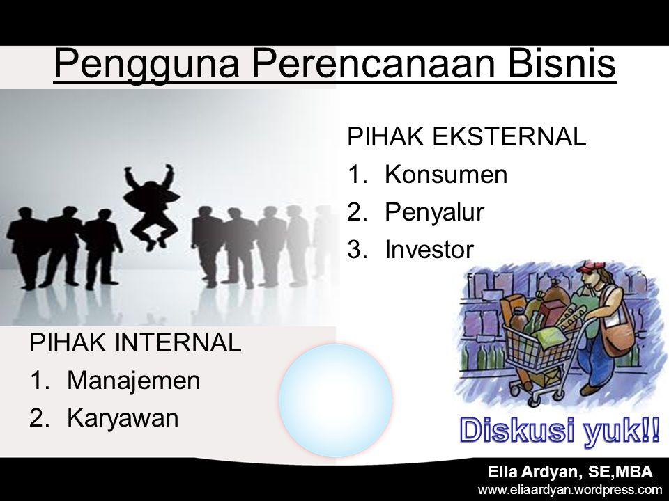 Pengguna Perencanaan Bisnis