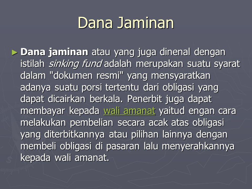 Dana Jaminan