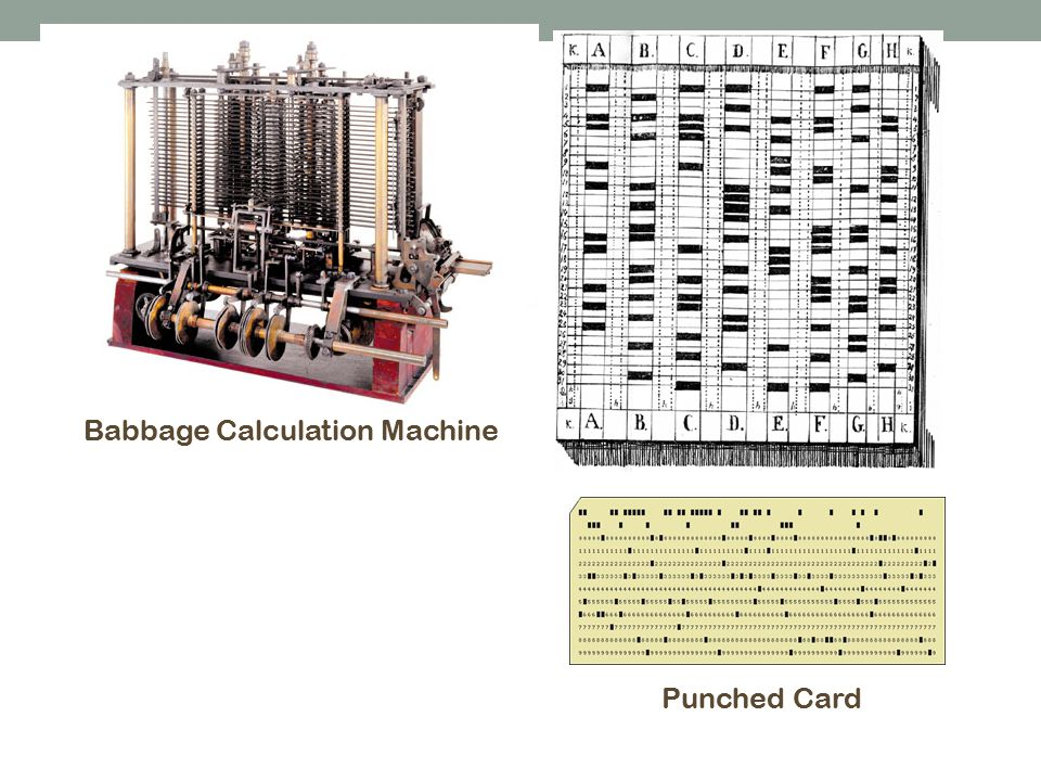 Babbage Calculation Machine