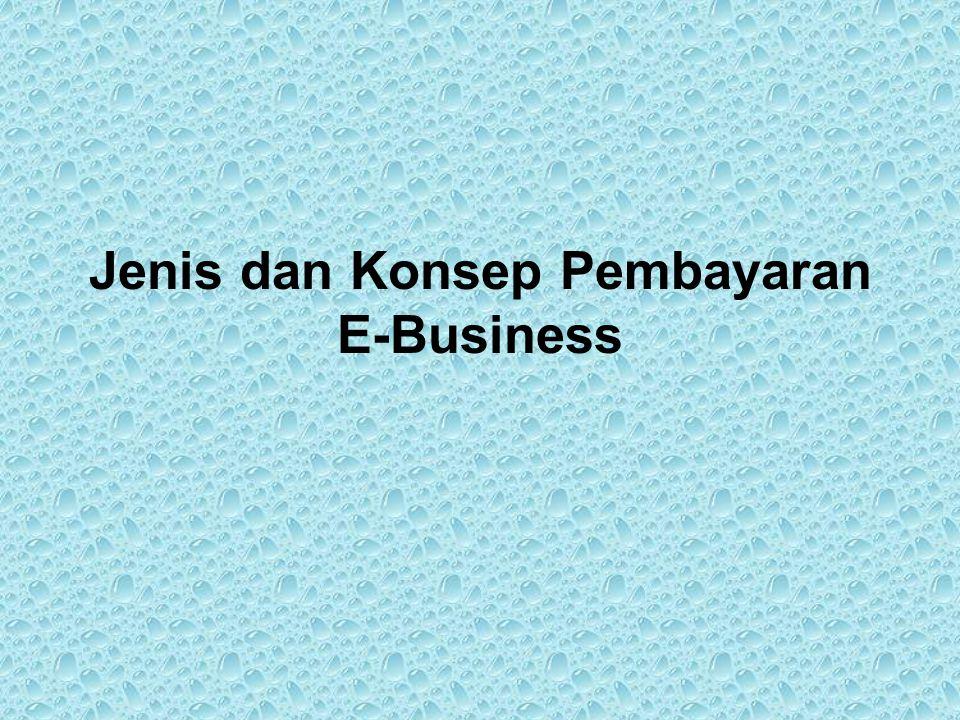 Jenis dan Konsep Pembayaran E-Business