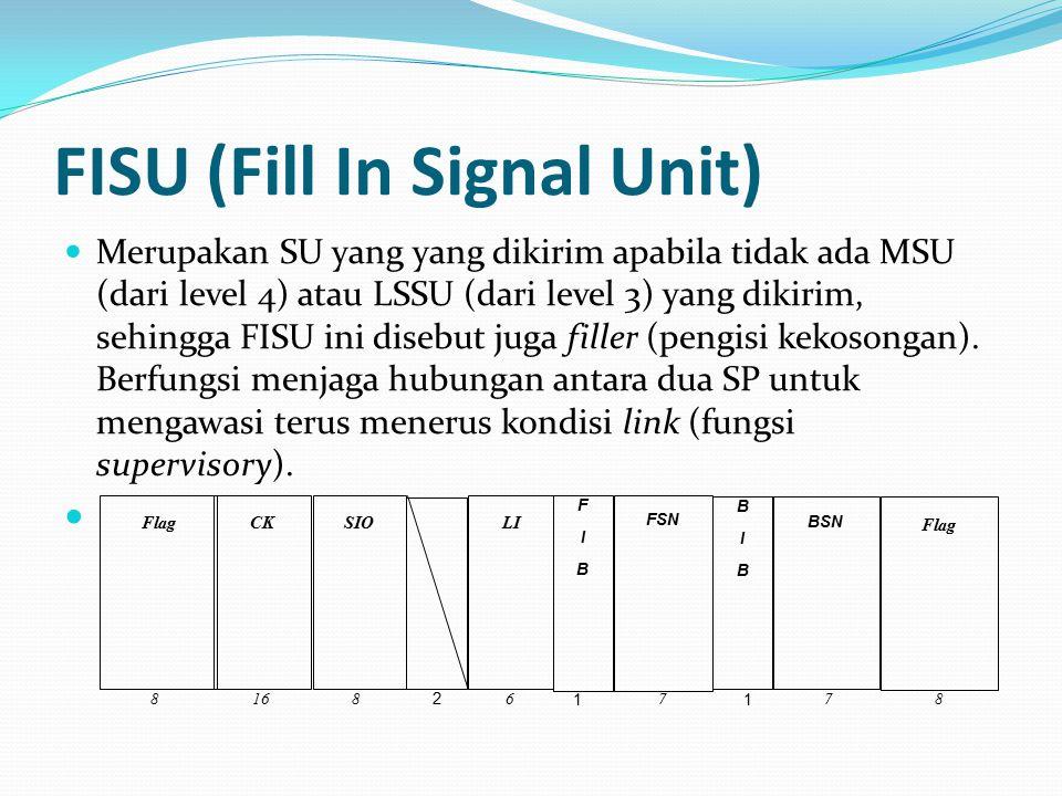FISU (Fill In Signal Unit)