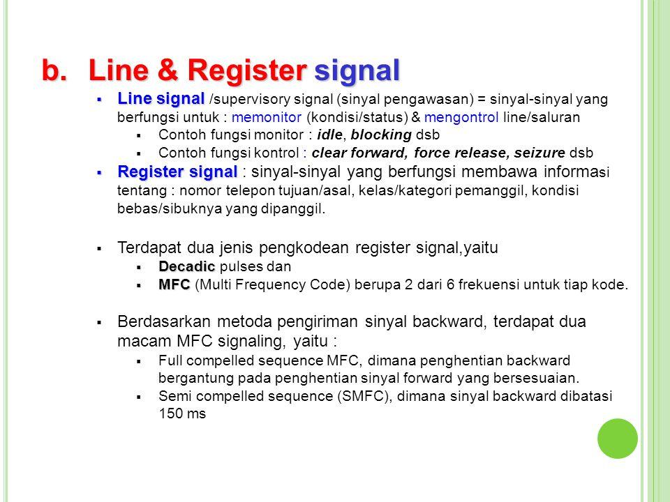 Line & Register signal