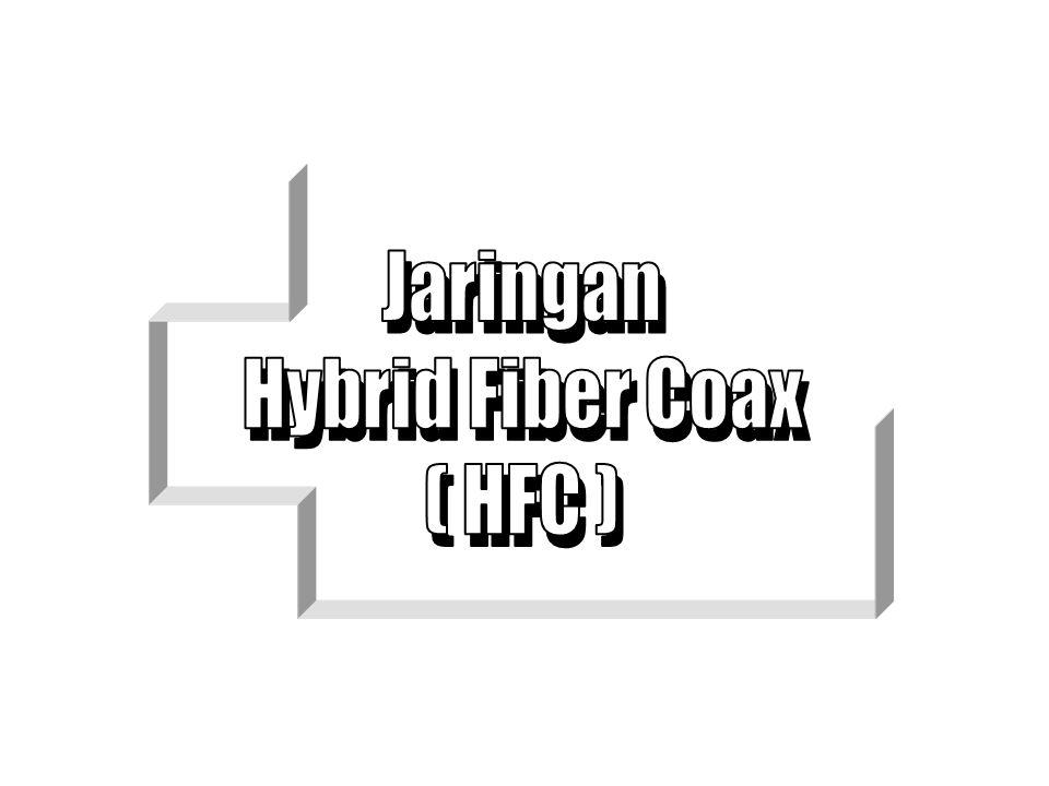 Jaringan Hybrid Fiber Coax ( HFC )